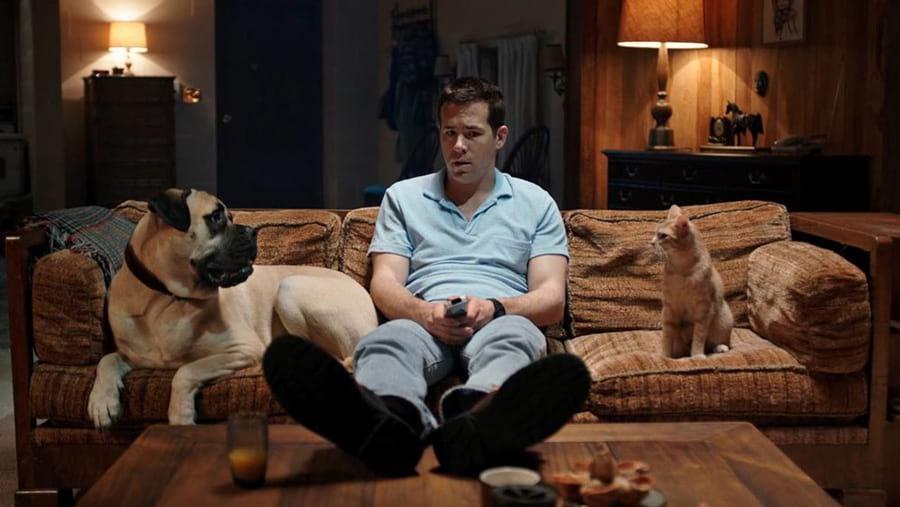 Ryan Reynolds en pleine conversation avec son chat et son chien dans The Voices (Marjane Satrapi, 2014)