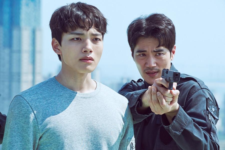 Yeo Jin Goo et Kim Kang Woo dans Circle