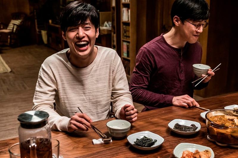 Kang Ha Neul et Kim Mu Yeol dans Forgotten