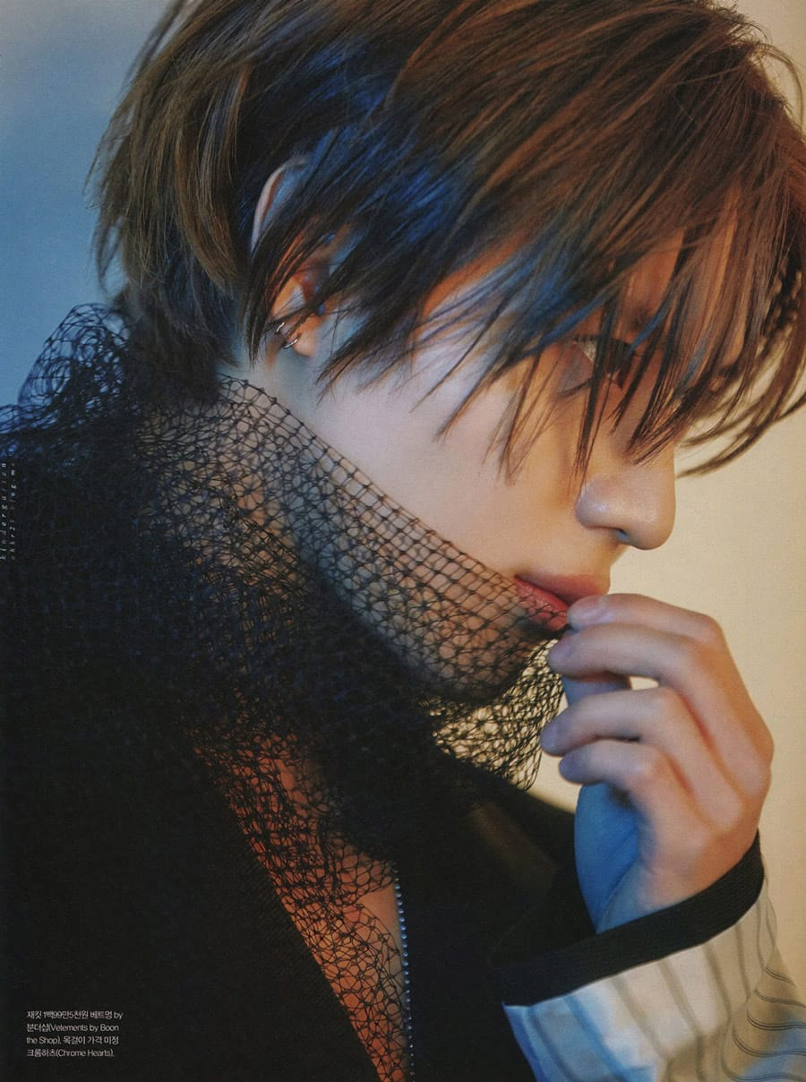 Taemin in Grazia, February 2019