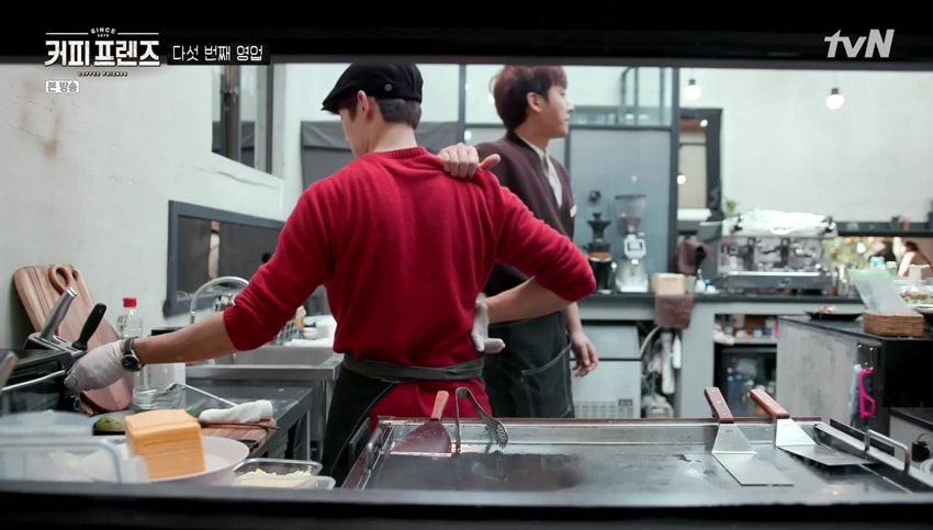 Coffee Friends ; les amis Yoo Yeon Seok et Son Ho Jun