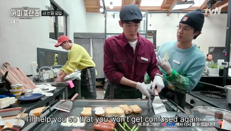 Yoo Yeon Seok et Yang Se Jong dans Coffee Friends