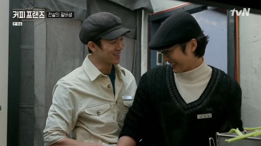 Coffee Friends : Yoo Yeon Seok et Yang Se Jong