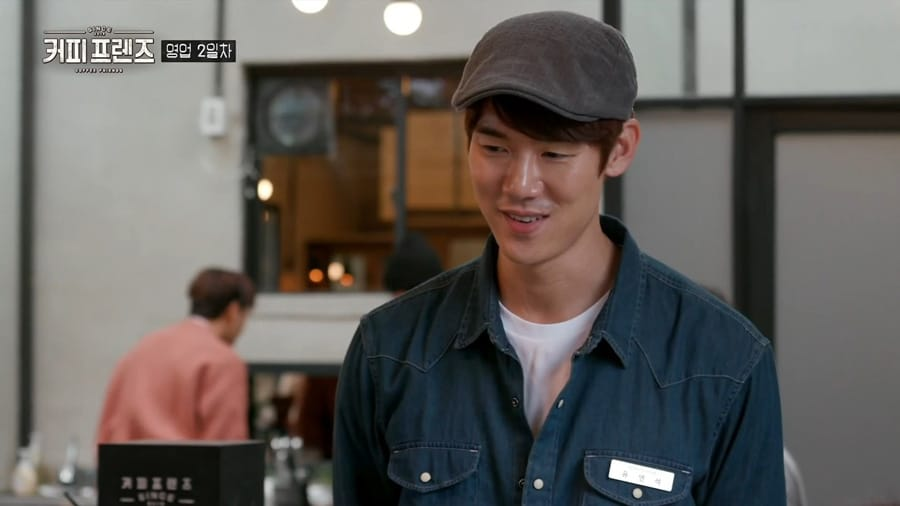 L'acteur coréen Yoo Yeon Seok dans Coffee Friends