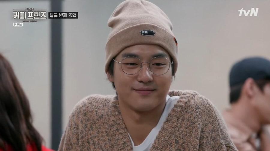 L'acteur coréen Yang Se Jong dans Coffee Friends