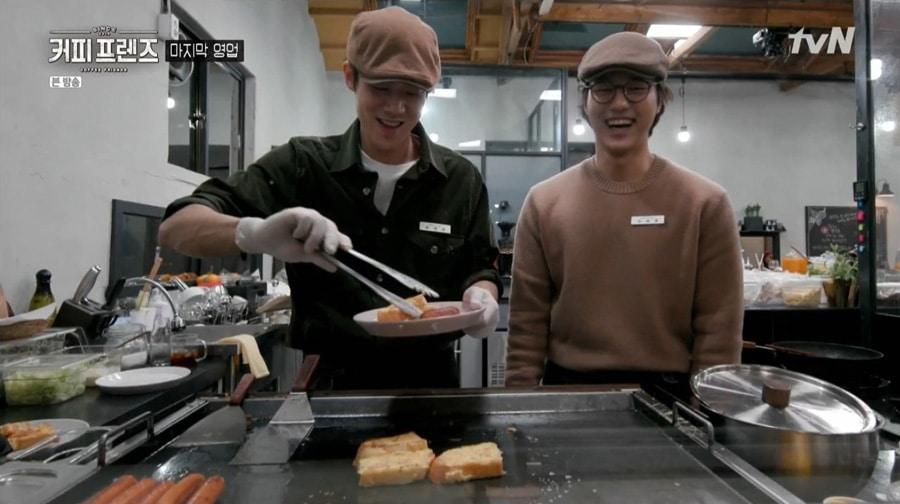 Coffee Friends : les acteurs Yoo Yeon Seok et Yang Sejong