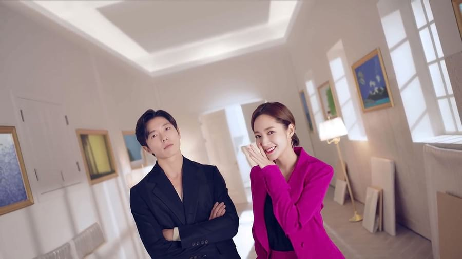 Kim Jae-Wook et Park Min-Young dans Her Private Life