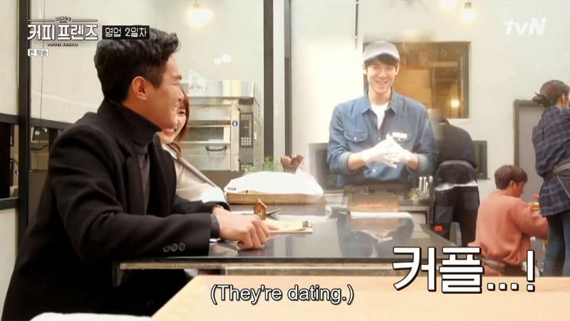 Yoo Yeon Seok dans le reality show Coffee Friends