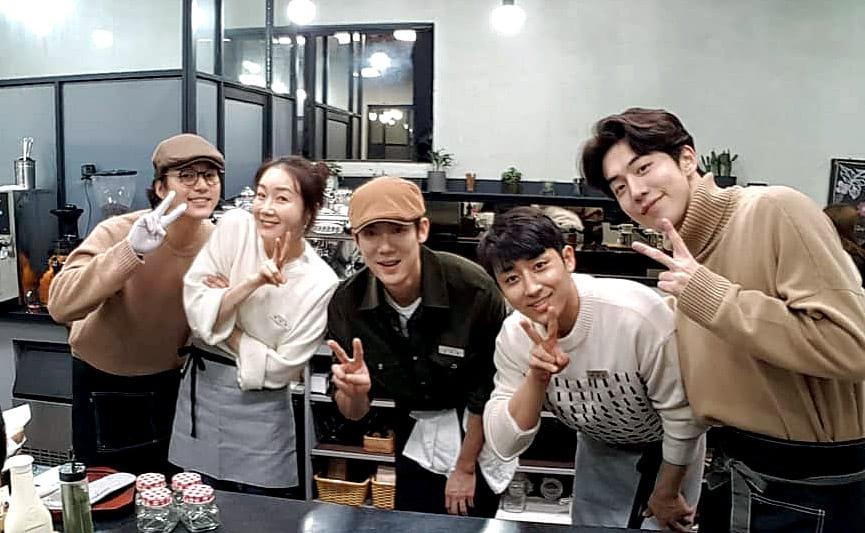 l'émission coréenne Coffee Friends sur tvN