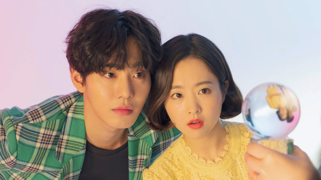Ahn Hyo Seop et Park Bo Young dans Abyss
