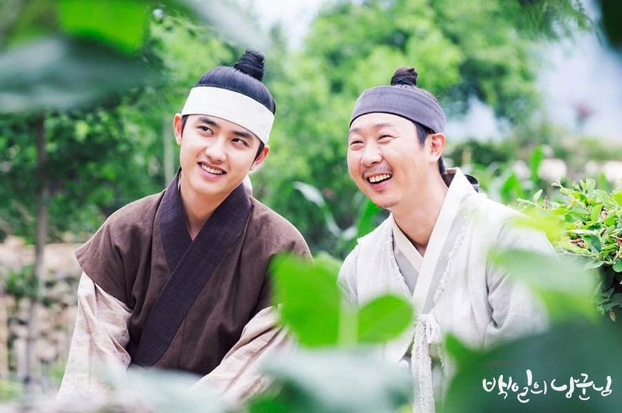 D.O. et Kim Ki Doo dans le drama 100 Days My Prince