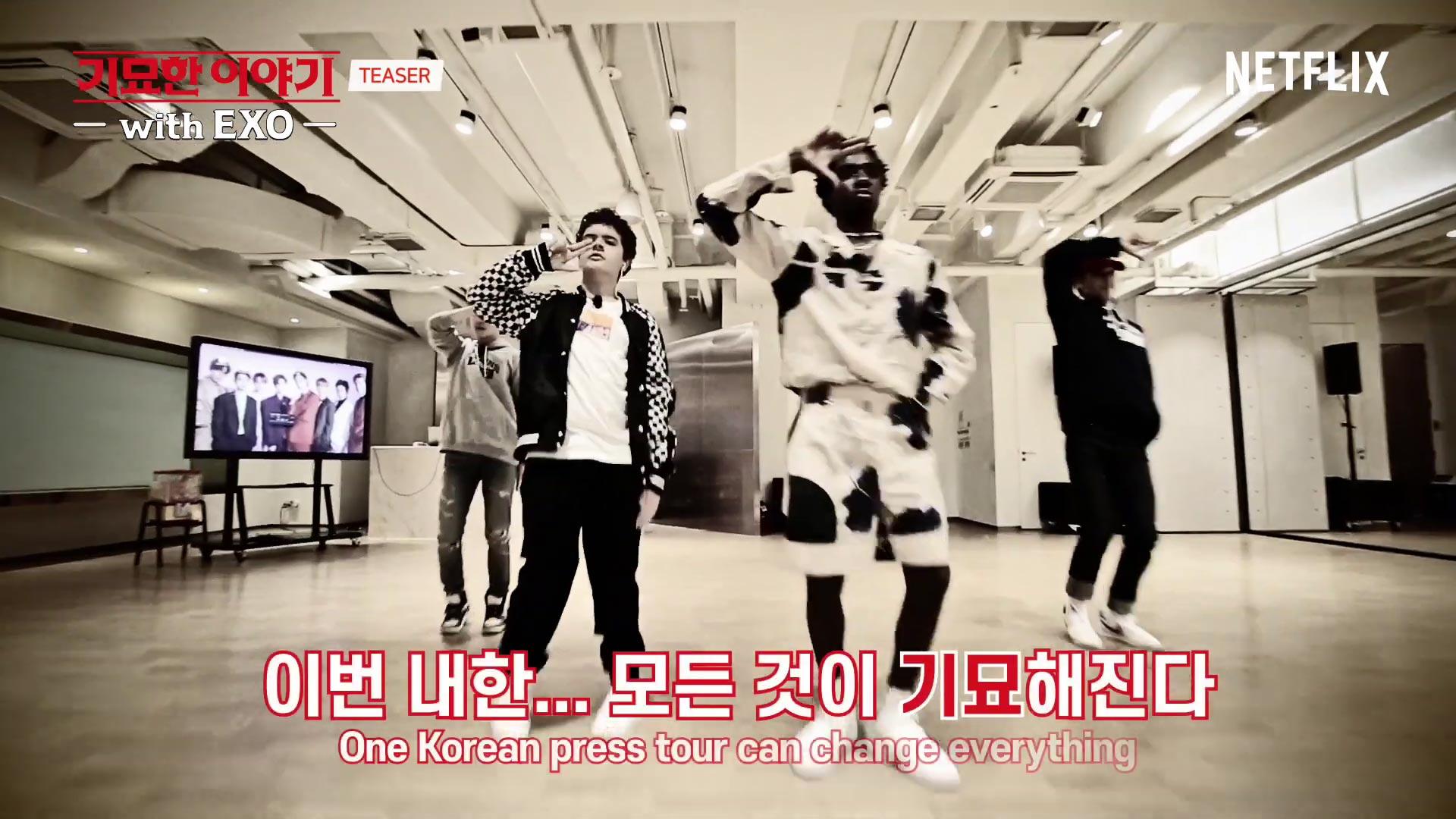 Stranger Things avec EXO : cours de K-Pop