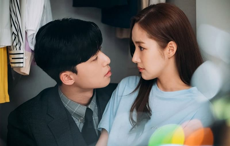 Park Seo Joon et Park Min Young dans What's Wrong With Secretary Kim