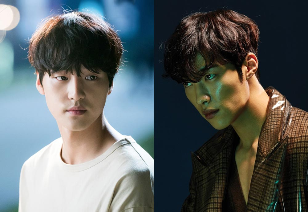 Les acteurs coréens Yang Se Jong et Woo Do Hwan