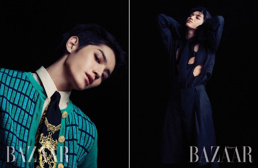 Taeyong pour Harper's Bazaar