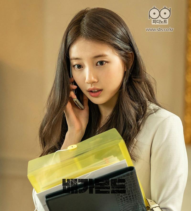 Suzy Bae dans la série Vagabond