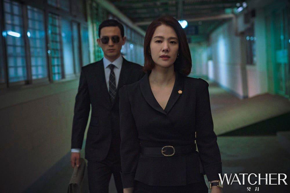 L'actrice coréenne Kim Hyun Joo dans Watcher