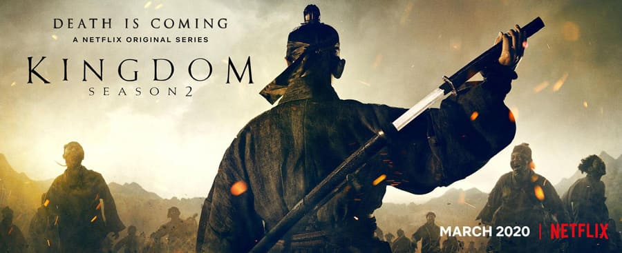 Le drama coréen Kingdom Saison 2 (Netflix)