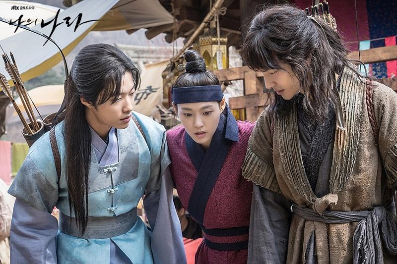 Yang Se Jong, Seolhyun et Woo Do Han dans My Country