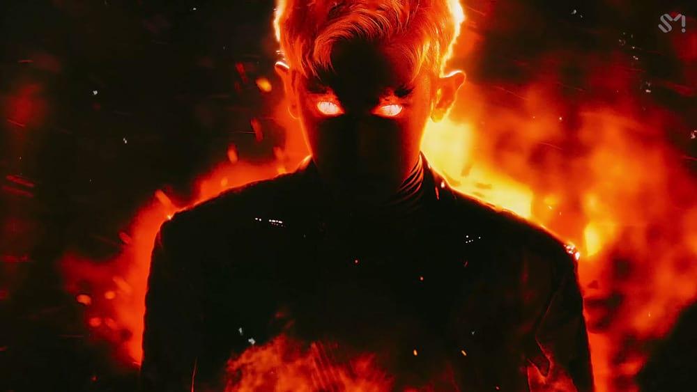 Chanyeol en feu dans le MV d'Obsession (EXO)