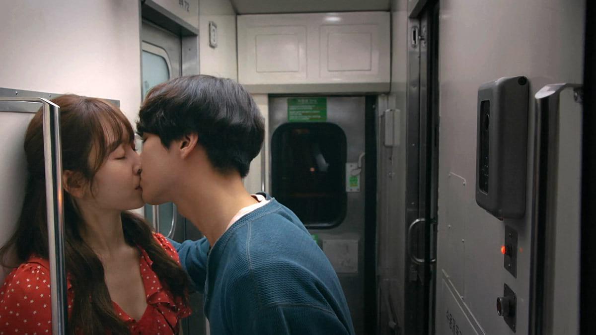 Scène de baiser de Seo Hyun Jin et Yang Se Jong dans Temperature of Love
