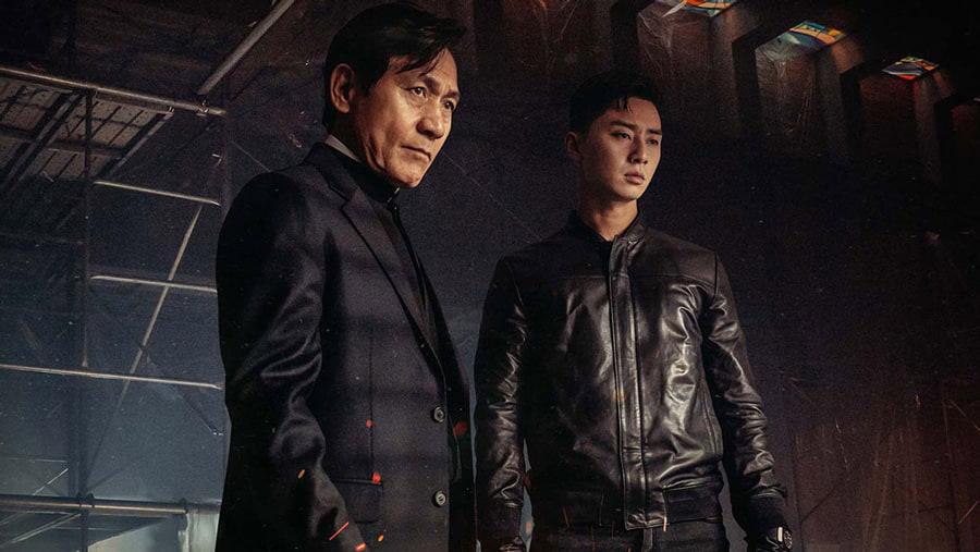 Ahn Sung Gi et Park Seo Joon (The Divine Fury)