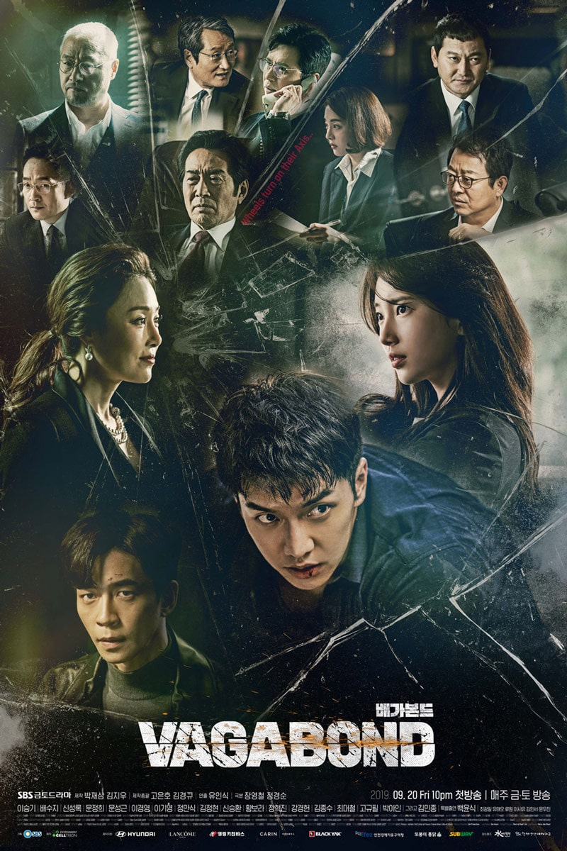 Vagabond : poster du drama coréen