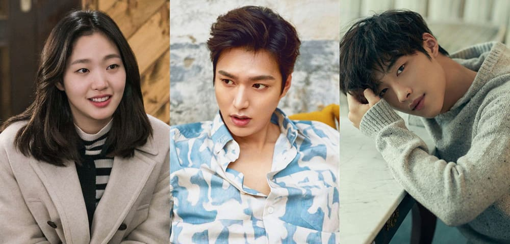 Lee Min Ho, Kim Go Eun et Woo Do Hwan dans The King Eternal Monarch