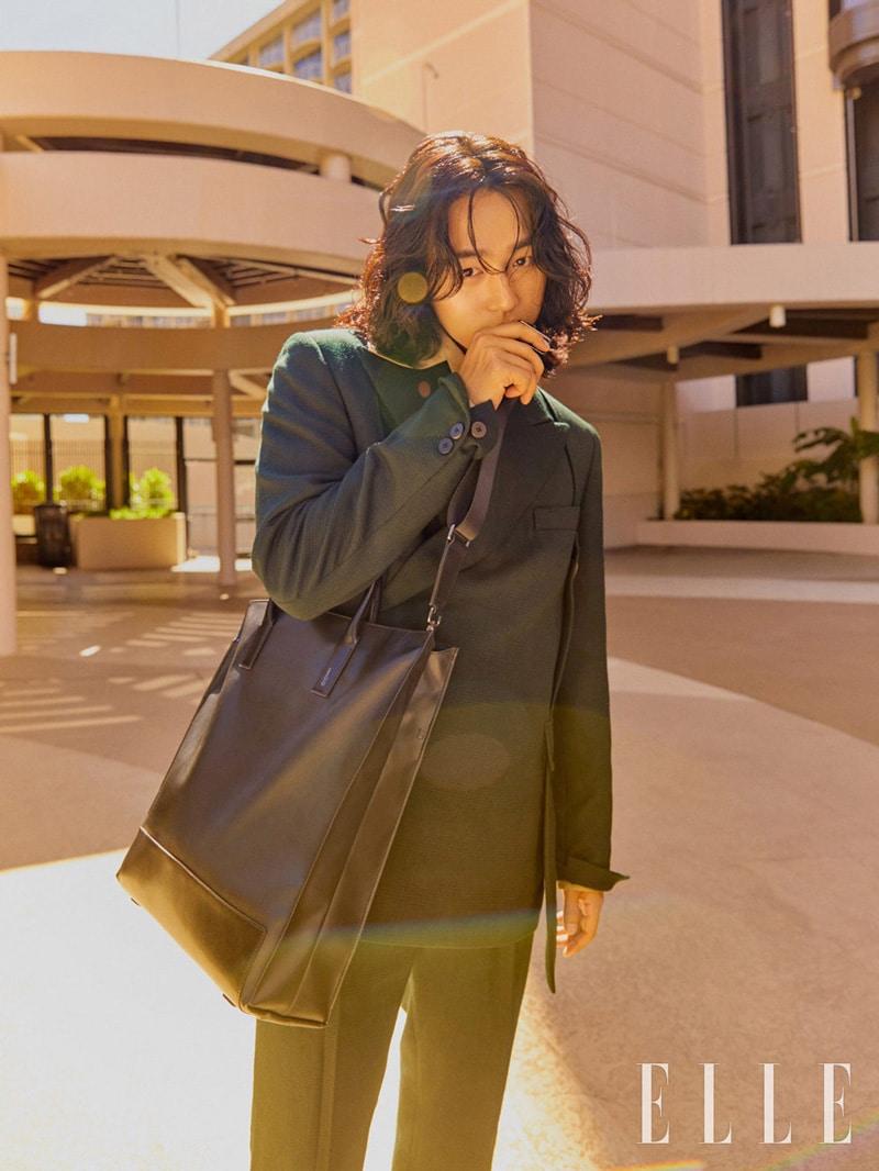 Yang Sejong pour le magazine Elle Korea 2020