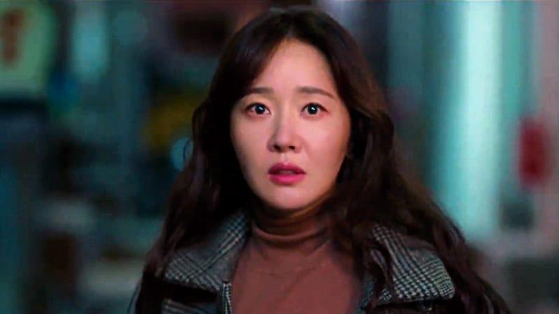 Uhm Ji Won dans la série The Cursed (tvN)