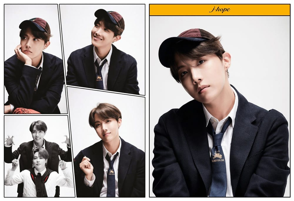 Photos de J-Hope avec une casquette