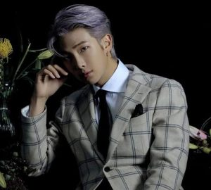 RM (Kim Nam-Joon) pour l'album Map Of The Soul 7 de BTS