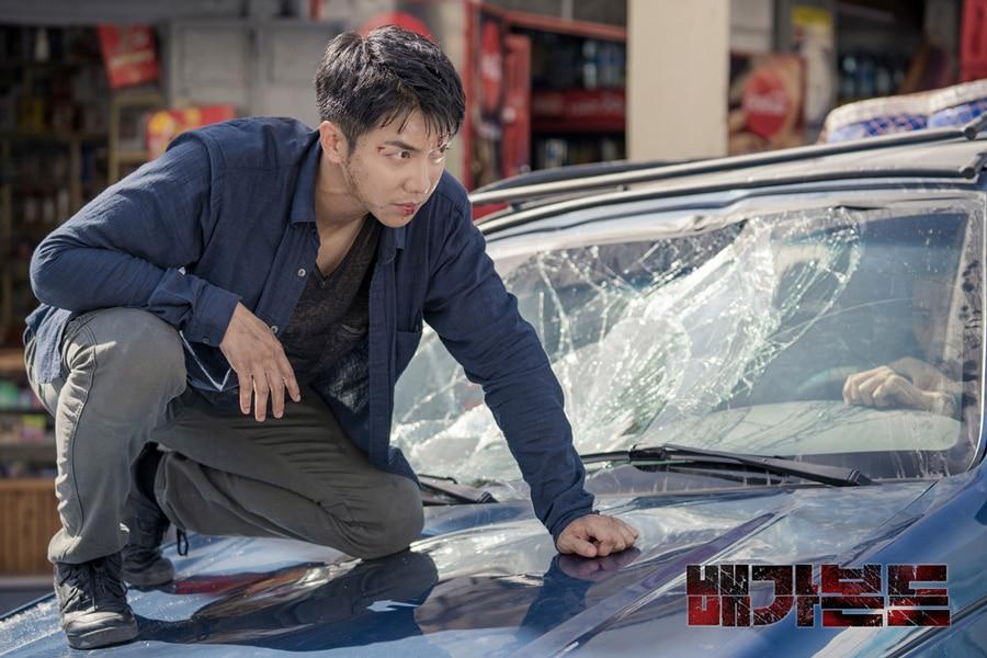 Lee Seung Gi dans la série Vagabond