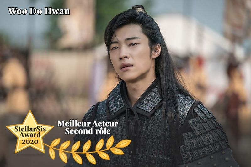 Woo Do Hwan, meilleur acteur coréen second rôle