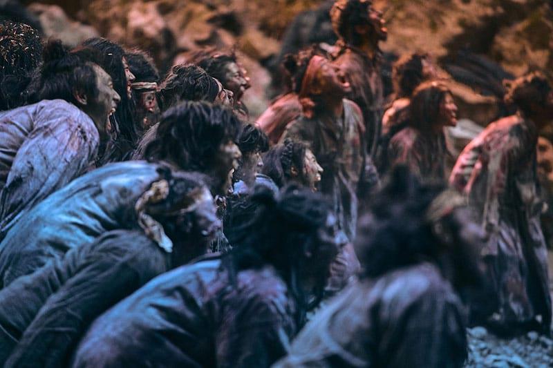 La série de zombie Kingdom 2 sur Netflix