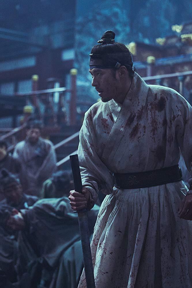 Hyun Bin combat des zombies dans Rampant