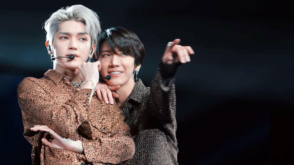 Baby Don't Stop : Taeyong et Ten à Paris au concert de Super M