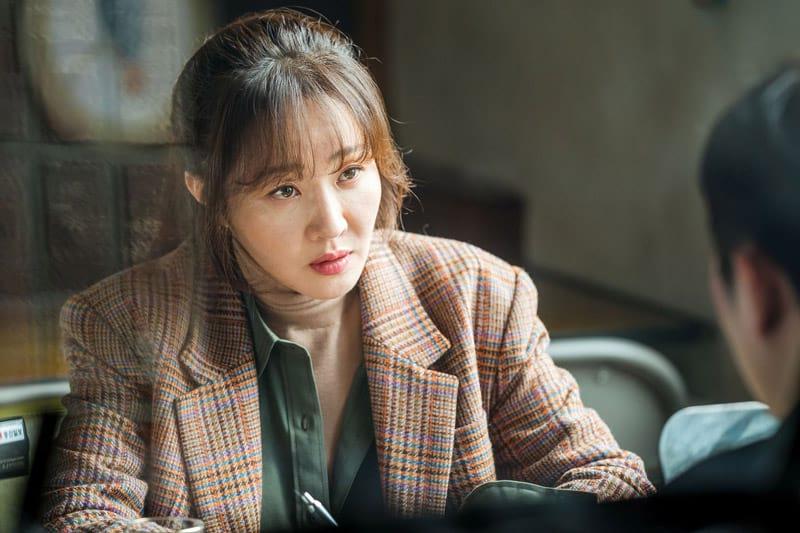Uhm Ji Won dans le drama The Cursed