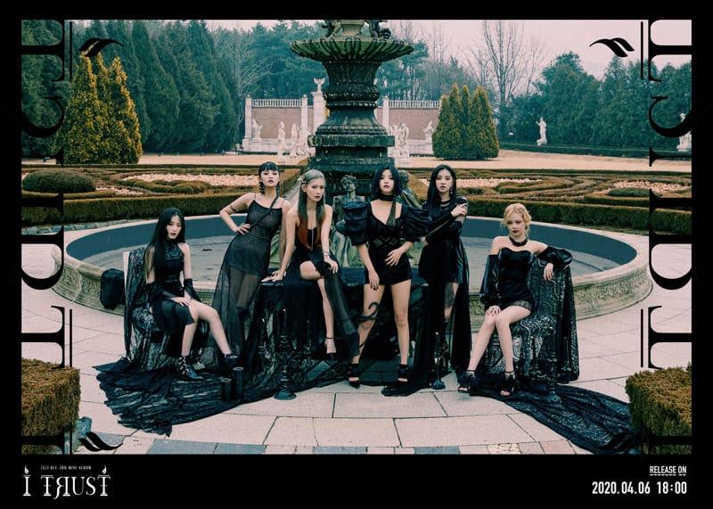 (G)I-DLE : couverture de l'album I Trust