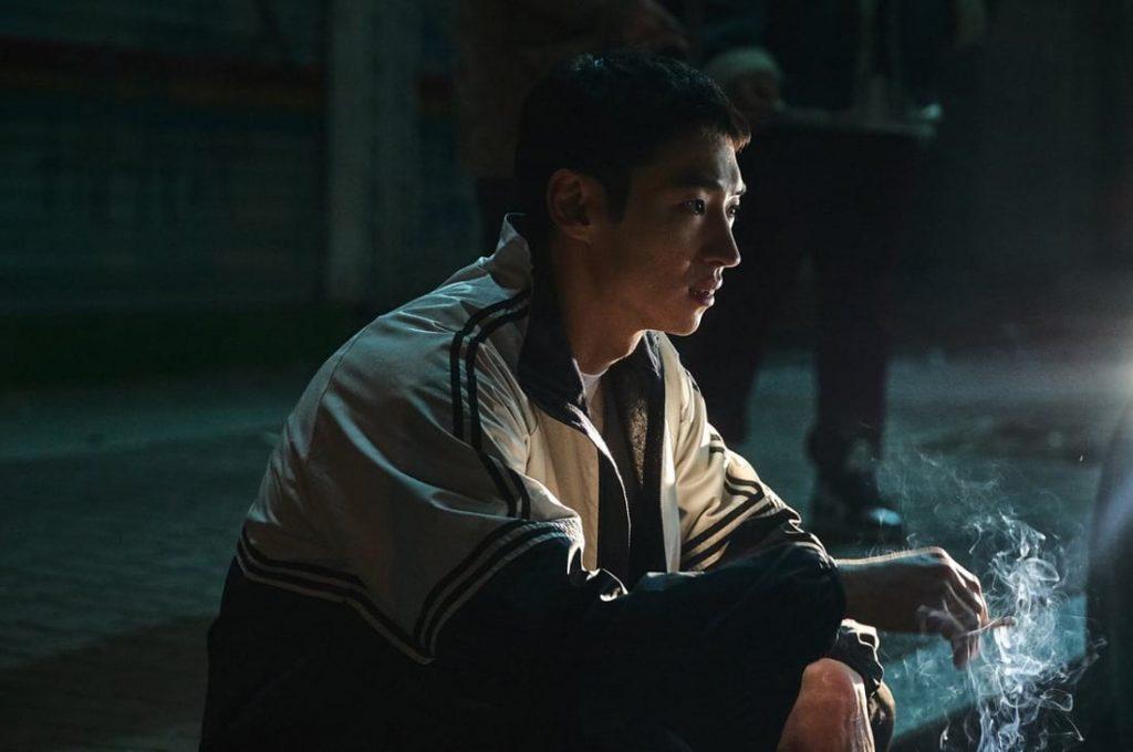 L'acteur coréen Lee Je-Hoon dans La Traque (Time to Hunt) sur Netflix