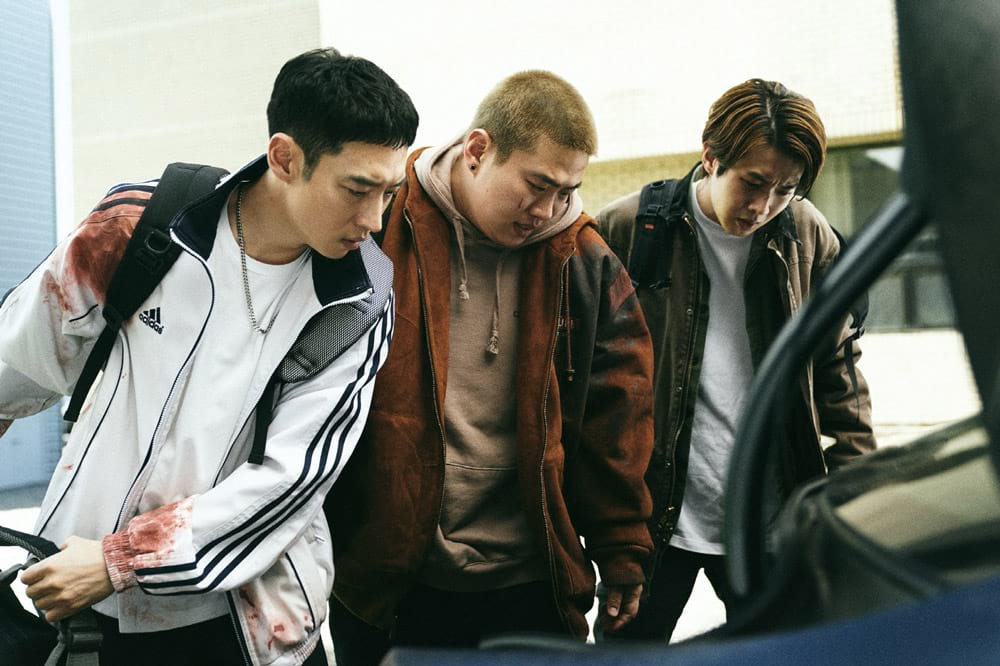 Lee Je-Hoon, Ahn Jae-Hong et Choi Woo-Sik