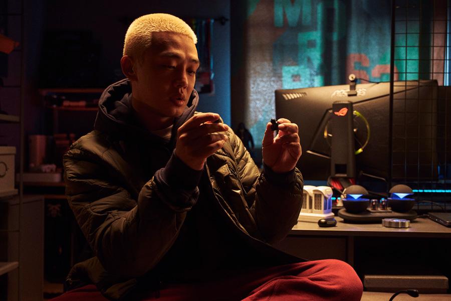 Yoo Ah-In dans le film Alive