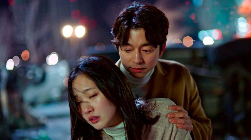Kim Shin sauve Ji Eun Tak dans Goblin