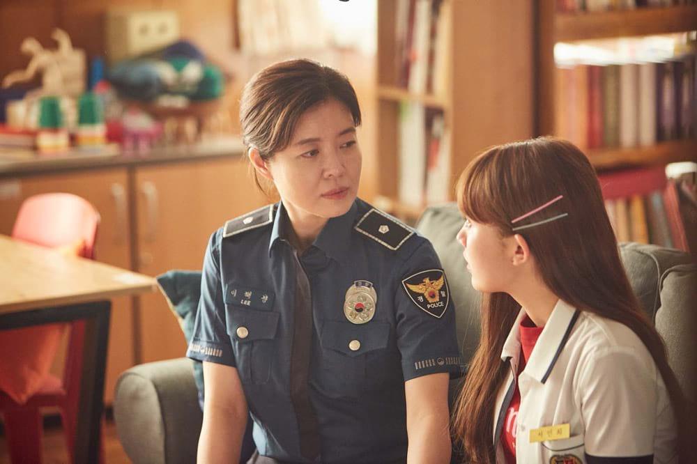 Kim Yeo Jin et Jung Da Bin dans Human Class
