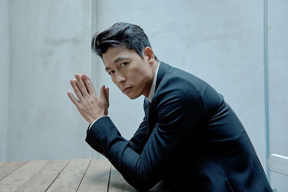 L'acteur coréen Jung Woo-Sung