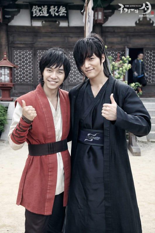 Lee Seung-Gi et Choi Jin-Hyuk sur le tournage de Kang Chi, The Beginning