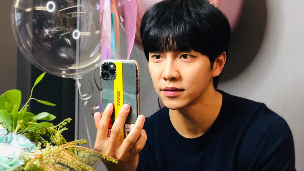 Lee Seung-Gi sur Instagram