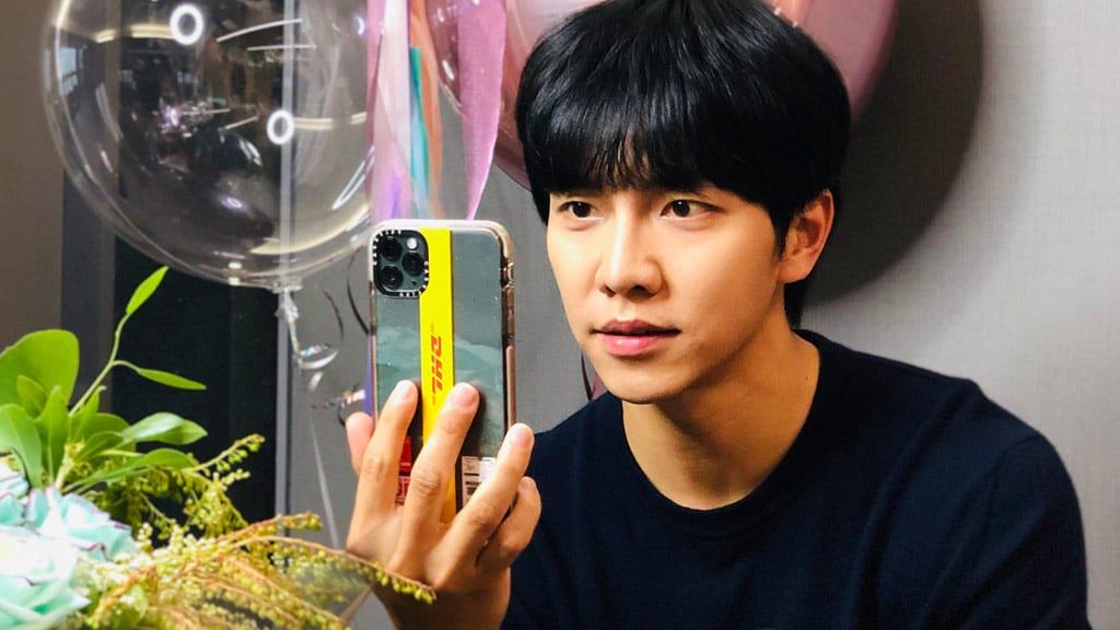 Lee Seung-Gi sur Instagram