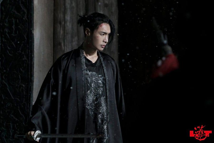 Lay Zhang dans Lit