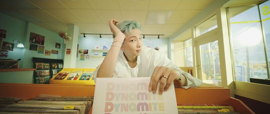 RM de BTS dans Dynamite
